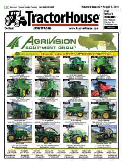 TractorHouse com | Used Tractors For Sale: John Deere, Case IH, New