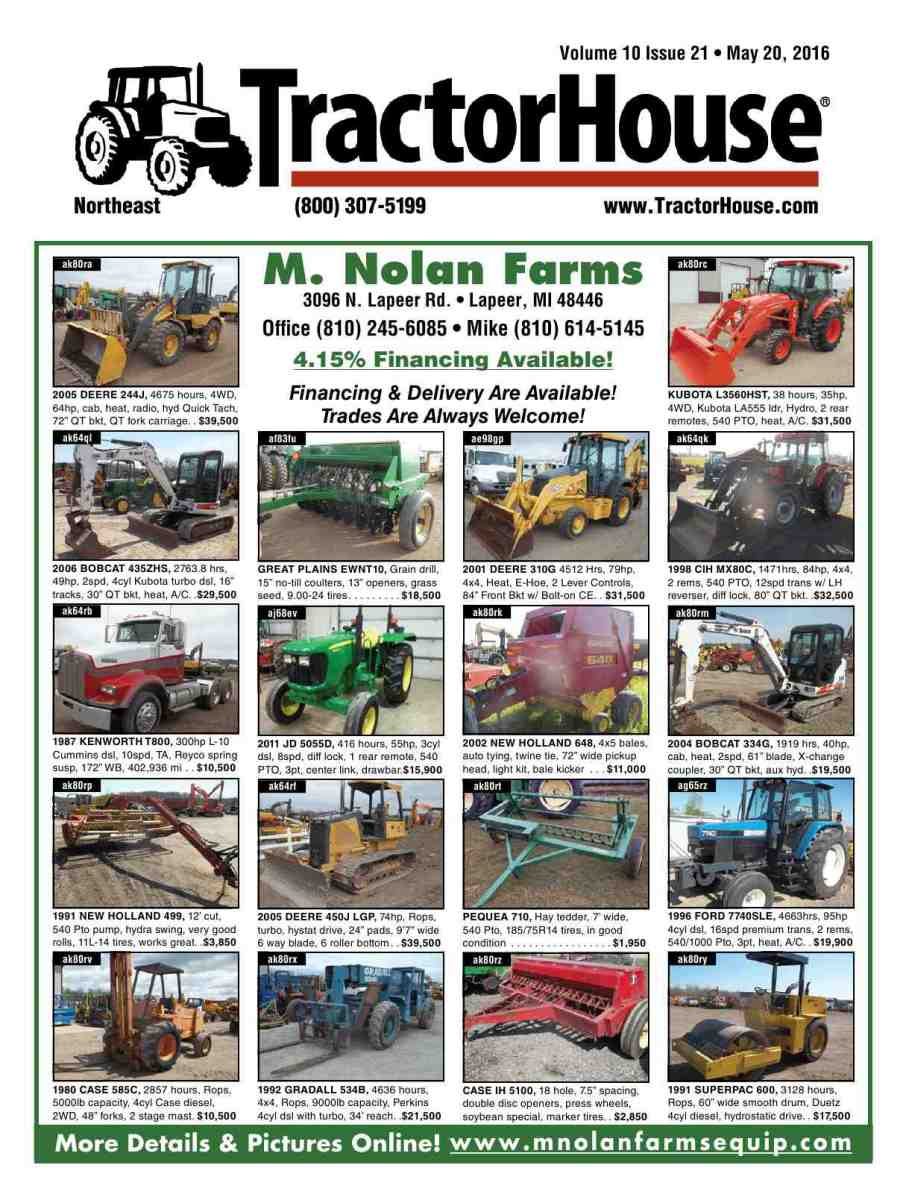 Tractorhouse reproduction of material appearing in tractorhouse is strictly prohibited without express prior written consent tractorhouse is a registered trademark of fandeluxe Choice Image