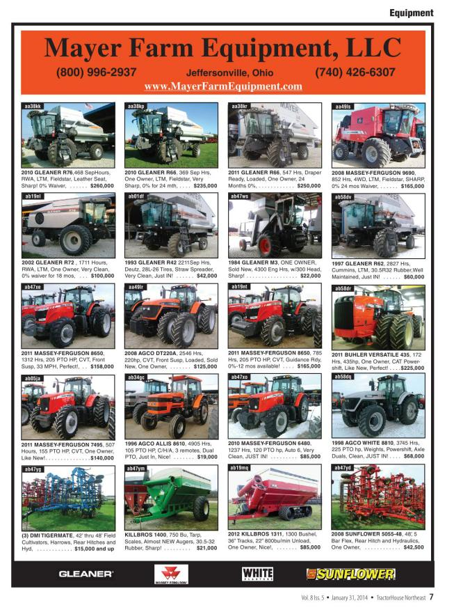 Massey Ferguson 1020 Hydro Tractor Sales Brochure Spec Sheet Classic Tractor Strong Packing Agriculture/farming